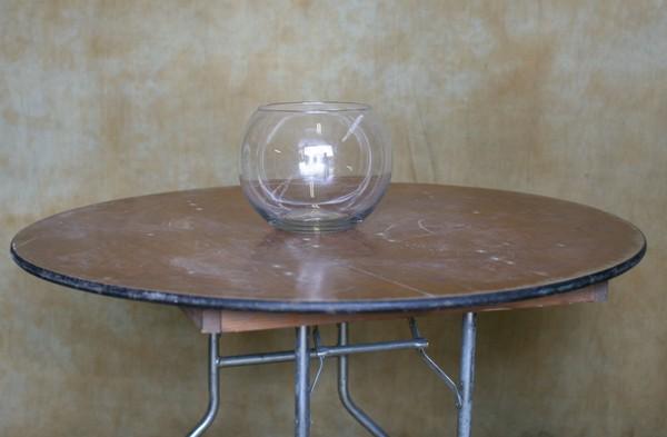Table center flower bowl