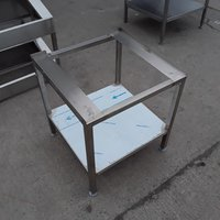 Stainless oven stand