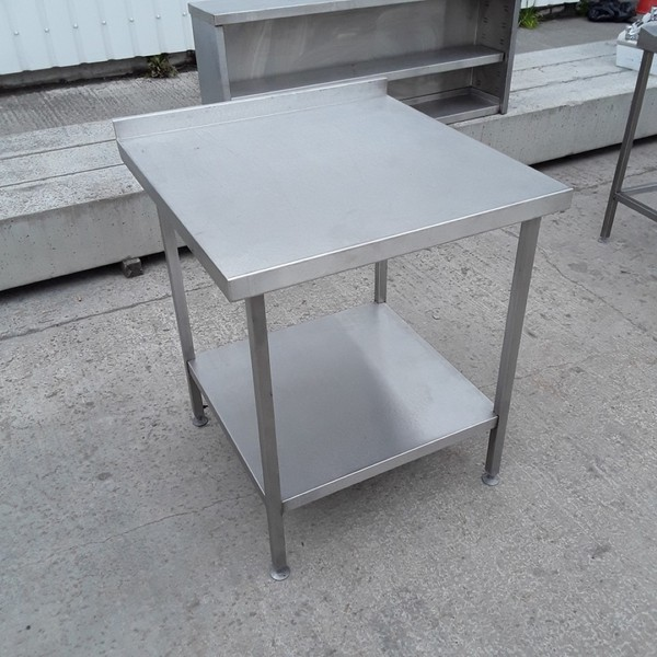 Stainless steel table shelf
