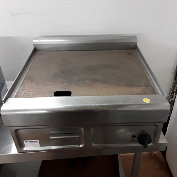 Stainless steel table top griddle