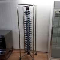 Plate stack rack