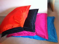 outdoor nylon beanbags