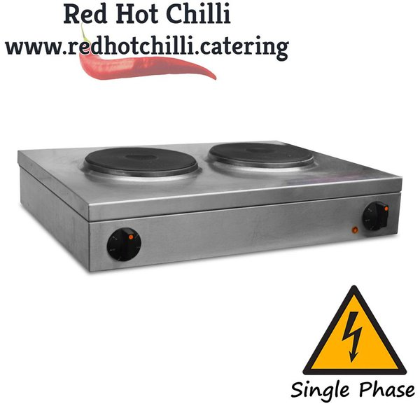 Two ring hob