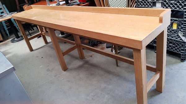 wall bench table