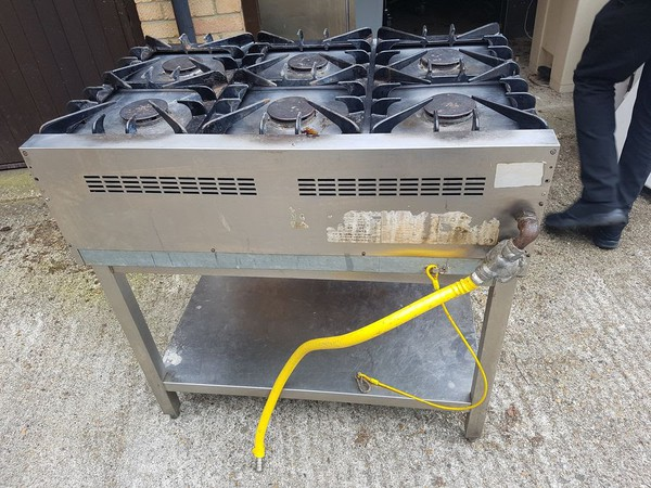 Used lincat burner top