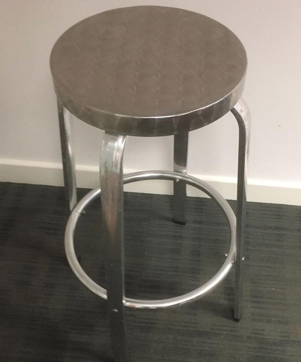 secondhand pub equipment bar stools 23x aluminium bar stools southampton hampshire. Black Bedroom Furniture Sets. Home Design Ideas