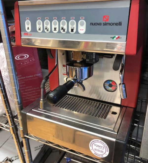 Secondhand coffee machine for sale