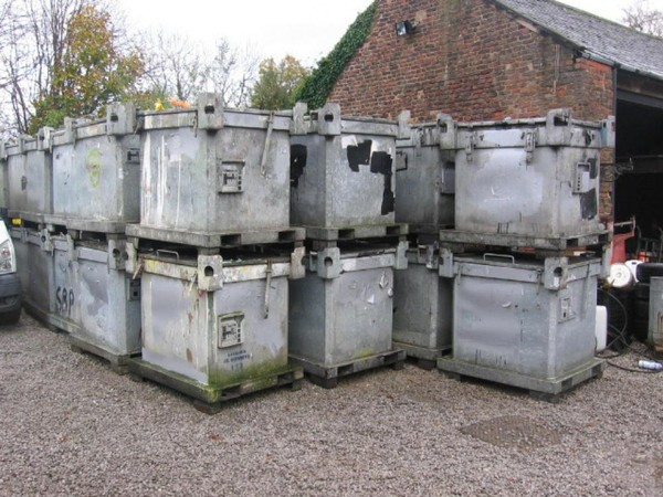 Galvanised Stillages Waste Safe