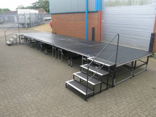 8ft x 4ft Sections Portable Staging