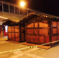 Wooden hut for sale