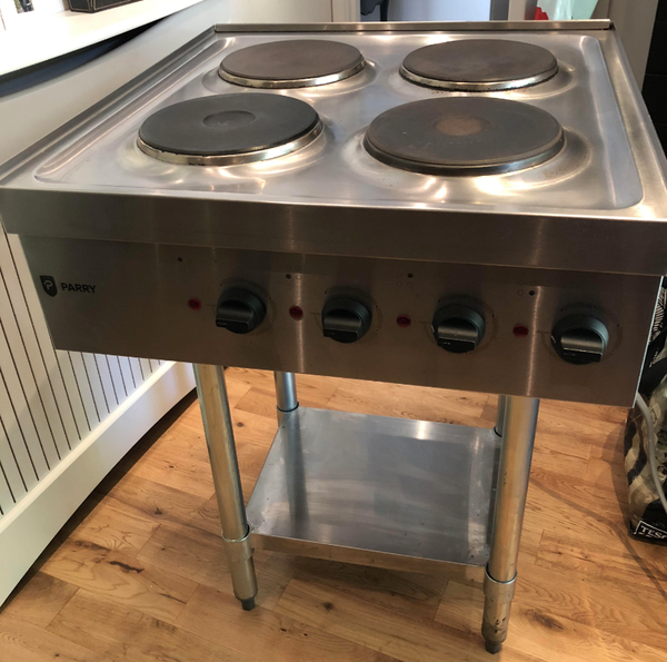 Commercial hob
