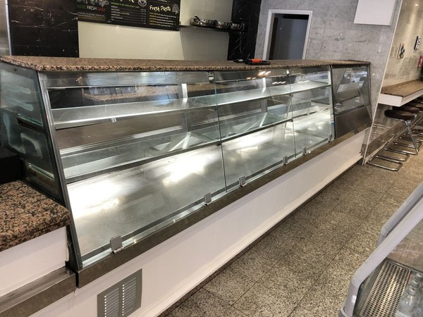 Glass display Counter for sale