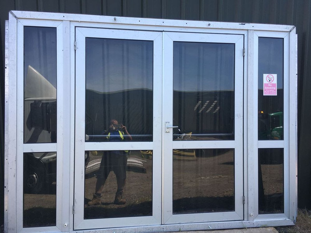 Curlew Secondhand Marquees Doors Oasis Set Of Doors Isle Of