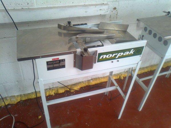 2x Norpak Bagging Machines