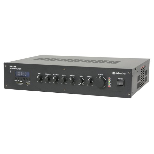 Amplifier Mixer Rm120b 5 Channel 100v Mixer Amp