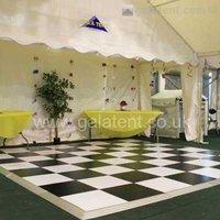 Gala tent dance floor