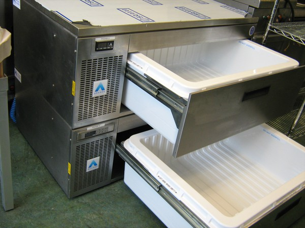 Front Venting Adande VCS R2 Refrigerated Prep Unit