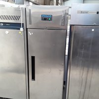 Used Polar G593 Stainless Steel Single Door Upright Freezer (6771)