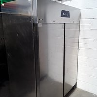 Used Electrolux RH14RE2FS Stainless Steel Double 2 Door Upright Fridge	(6770)