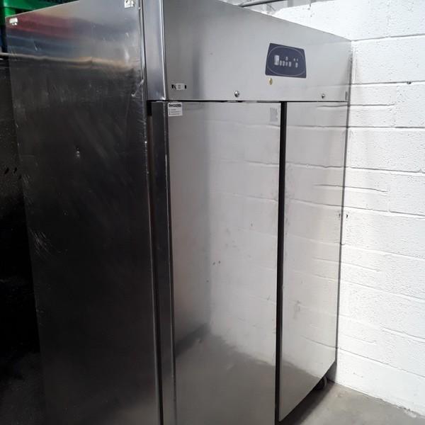 Used Electrolux RH14RE2FS Stainless Steel Double 2 Door Upright Fridge(6770)
