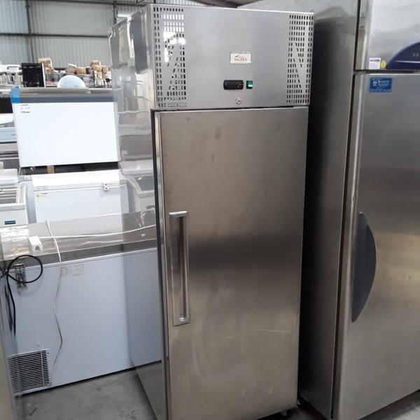 Used Valera UGNSC1 Stainless Steel Single Door Upright Fridge (6769)