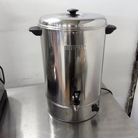 Used Buffalo GL348 Stainless Steel Table Top Hot Water Boiler (6789)