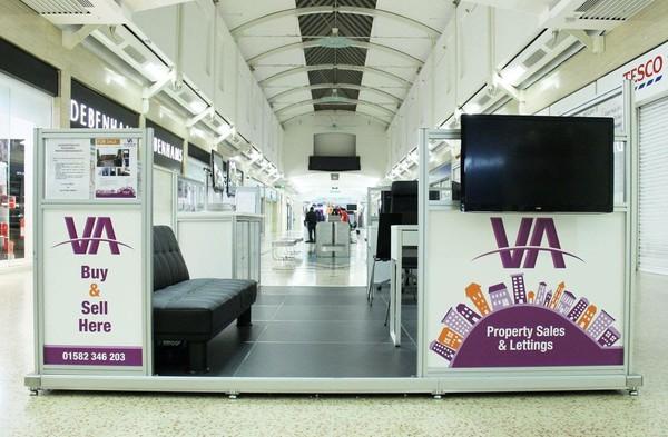 Modern Multi Purpose Retail Kiosk, Mall RMU