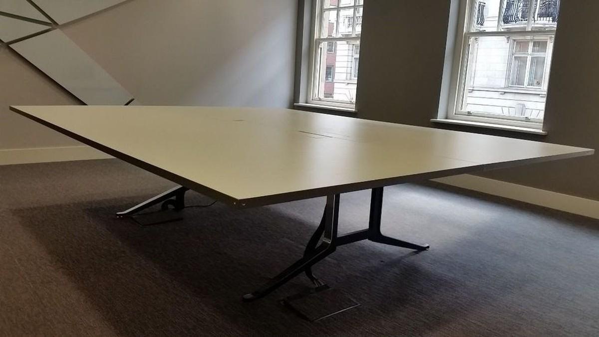 Large board room meeting room table