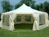 6.8m x 5m Octagonal framed marquee / tent