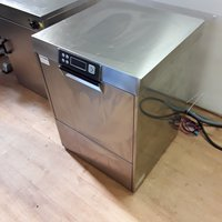 Ex Demo Smeg CW501 SDE Stainless Steel Under Counter Glass Dishwasher (6793)