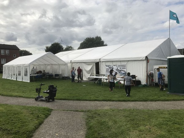 20m x 10m Clearspan Marquee