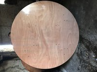 7x 5.5ft Round Folding Event Tables