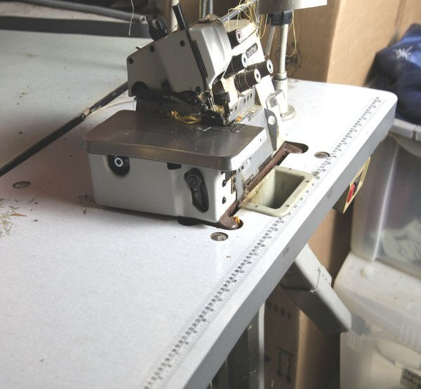 Brother industrial overlocking machine