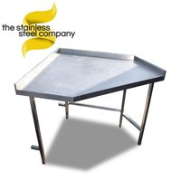 1.2m Stainless Steel Table (Ref: SS421) - Cheshire