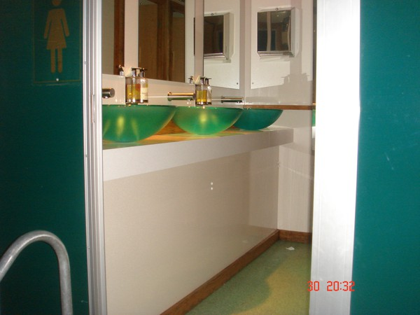 2+1 Luxury Portable Toilet - Warwickshire