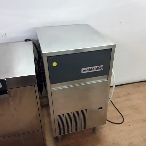 Used Maidaid M50-25 Stainless Steel Freestanding Ice Maker Machine	(6798)