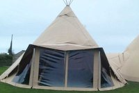 Panoramic Window for Giant Tipi