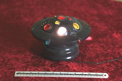 Battery operated disco light