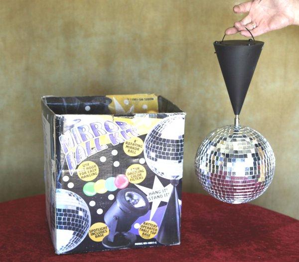 Table top mirror ball