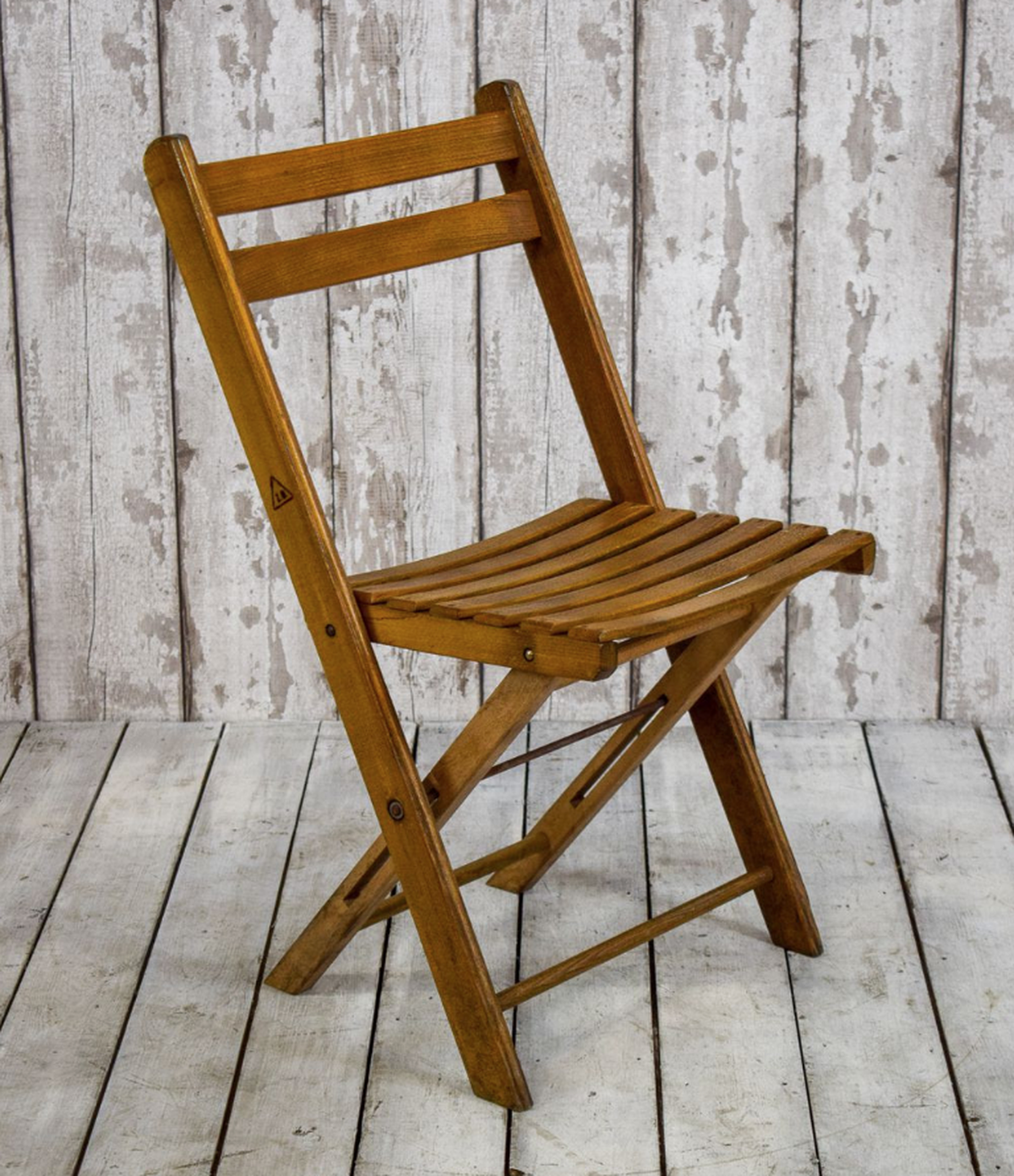 500x Vintage Wooden Folding Chairs Herefordshire