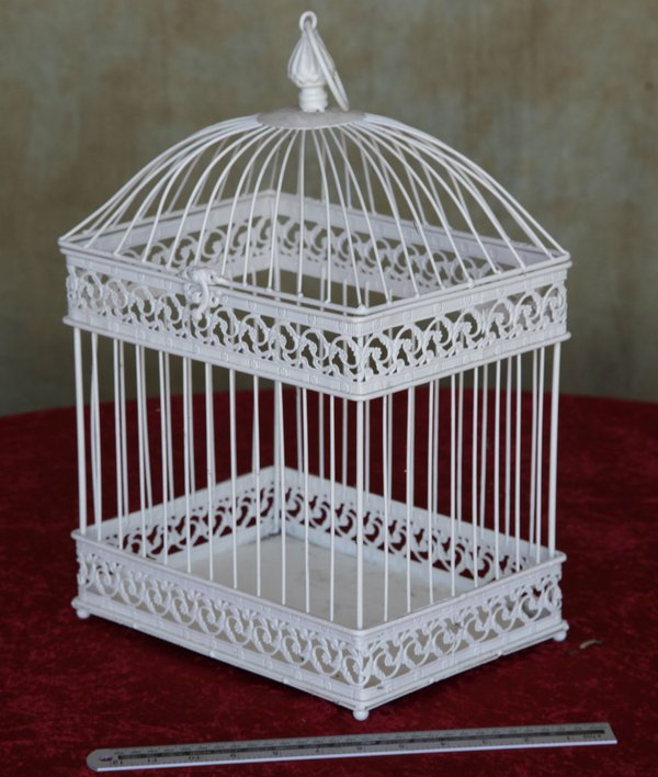 Bird cage for flower arraingments