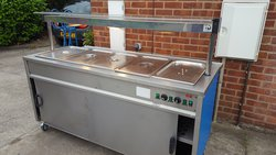 Secondhand bain marie trolley