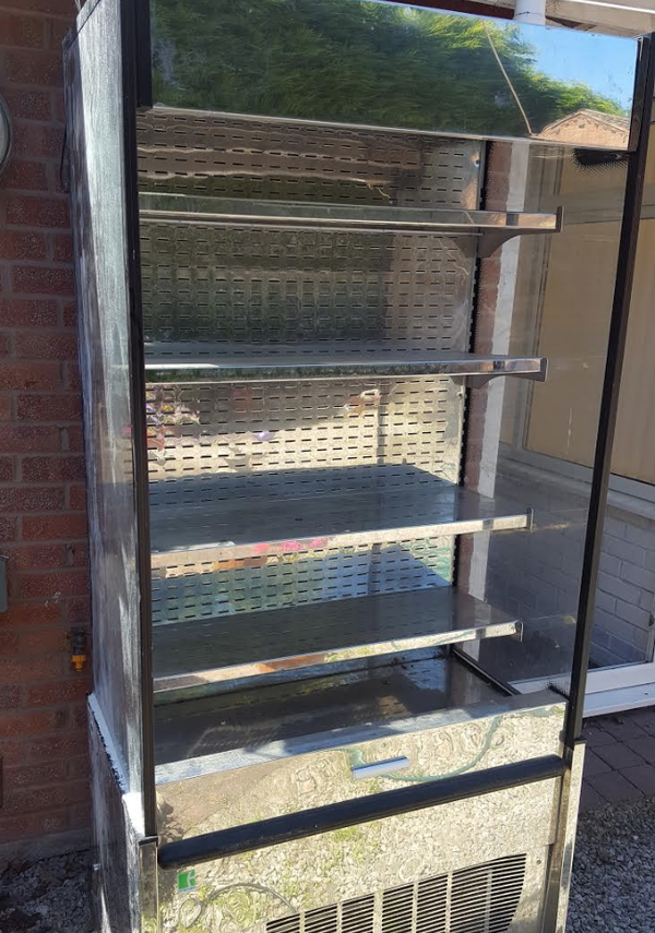 Used display fridge