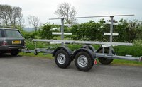 Pole work trailer for sale