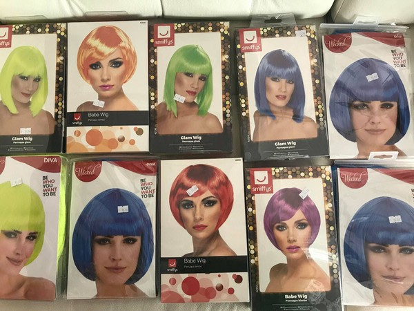 Coloured wigs for sale