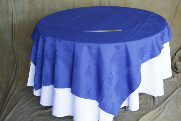 Blue table cloths for sale