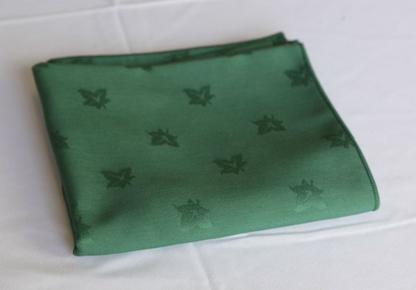 Woven Ivey green napkins