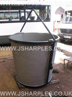 Conquip Bucket Tip Skip For Crane Or Telehandler Use