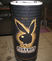 Playboy can cooler
