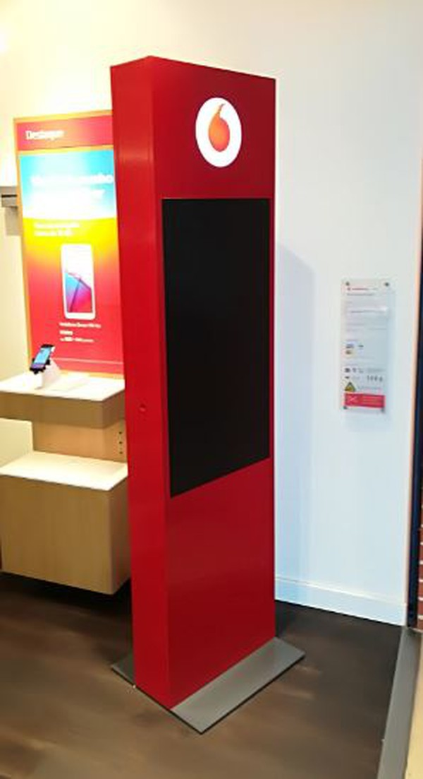 Freestanding Promotional Display Stand